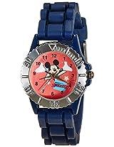 Disney Analog Multi-Color Dial Children's Watch - LP-1005 (Dark Blue)