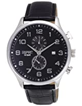 Esprit Cerritos Analog Black Dial Men's Watch - ES105581001