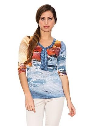 Jota + Ge Camiseta Net (Multicolor)