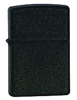 Zippo Crackle Lighter, 5 1/2x3 1/2cm (Black)