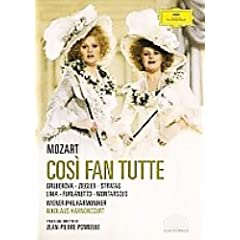 アーノンクール指揮/ウィーン国立歌劇場 ポネル演出《コジ・ファン・トゥッテ》(1988)の商品写真