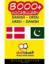 8000+ Danish-urdu Urdu-danish Vocabulary