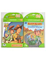 LeapFrog Bundle Tag Book 2-Pack - Disney Handy Manny and Disney Pixar Toy Story 3