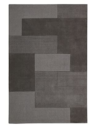 Calvin Klein Bowery GRID Rectangle Rug (Shale)