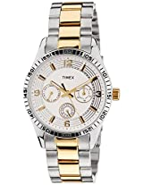 Timex Analog Silver Dial Women's Watch - TI000W20300
