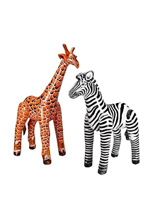Jet Creations Zebra and Giraffe Safari Pack