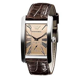 Emporio Armani AR0155 ladies classic watch Brown