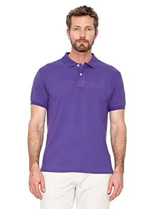 Cortefiel Polo Basic (Lila)