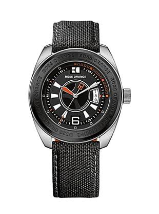 Hugo Boss 1512548 - Reloj de caballero de cuarzo, correa de plástico color negro