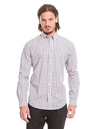 Springfield Hemd (Grau/Weiß)