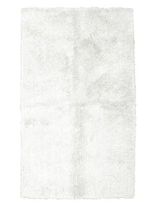 Park B. Smith Luster Bamboo Bath Rug (White)