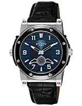 Rotary Analog Blue Dial Men's Watch-EGS0007TZ20405