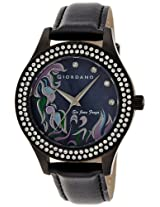 Giordano Analog Black Dial Women's Watch 2588-02