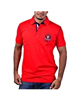 Duke Men Trendy Polo Red T-Shirt By ReturnfavorsXXL