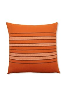 "D. Bryant Archie Ayers Pillow, Orange/Midnight, Size 22"" x 22"""