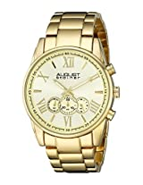 August Steiner Men's AS8163YG Analog Display Japanese Quartz Gold Watch