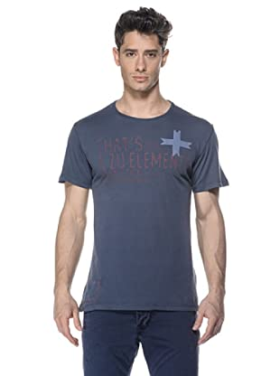 Zu-Elements Camiseta Grier (Gris Oscuro)