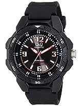 Q&Q Analog Grey Dial Unisex Watch - VR54J002Y