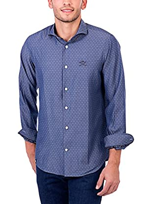 Polo Club Camicia Uomo Maverick Academy Slim