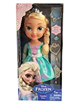Exclusive Disney Frozen Toddler Elsa Doll with Jewelry Playset