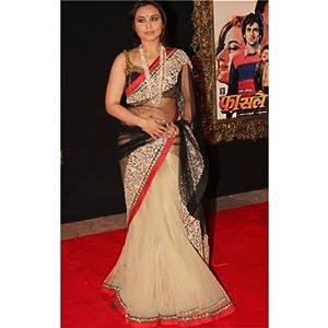 Nairiti Rani Mukharji Bollywood Replica Saree