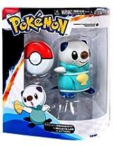 Pokemon TOMY RC Remote Controlled Training Figure Oshawott