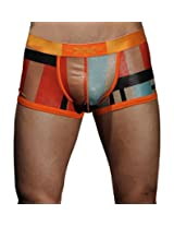 Xuba Fleshy Back Orange Mens Trunks