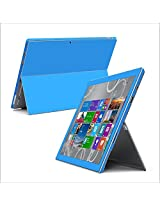 258stickers Blue Full Body Protective Painting Back Sticker Skin Decal Cover For Microsoft Surface Pro 3 Tablet Scratch Protection Colorful Matt Style Skin Selected Bly Mtoo