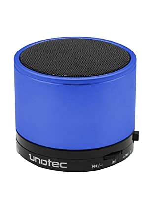 Unotec Altavoz Bluetooth Maxround Azul