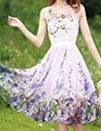 Rc Floral Embroidery Flair Dress RCCWW123003