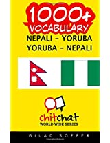 1000+ Nepali-yoruba Yoruba-nepali Vocabulary