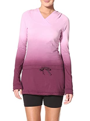 New Balance Women's Dip Dyed Tunic Top (Orchid)