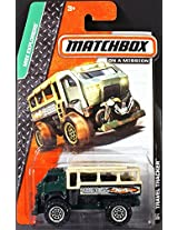TRAVEL TRACKER Matchbox 2014 MBX Explorers Series Green Travel Tracker Truck 1:64 Scale Collectible