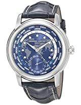 Frederique Constant Analogue Blue Dial Men's Watch - FC-718NWM4H6