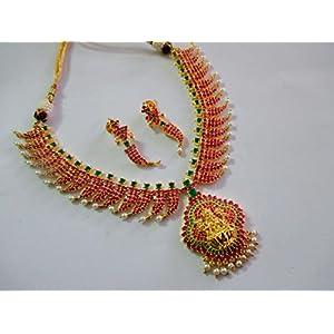 Extremely Beautiful & Traditonal Temple Jewellery Set