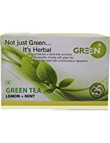 TPOT Green Tea (Lemon+ Mint) , 25 Tea Bags