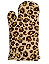Two Lumps of Sugar Leopard Oven Mitt