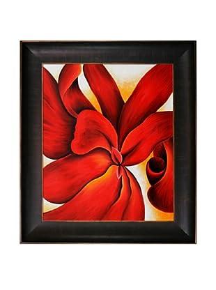 Red Cannas, Georgia O'Keeffe