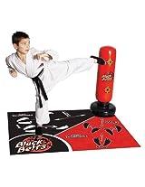 Black Belts Karate Studio DVD with Punch Bag