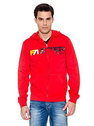 Pepe Jeans London Sudadera Diffuser (Rojo)