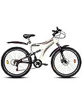 """Hercules A 100 VX Bike, 26"""" (Racy White Cobalt Grey)"""