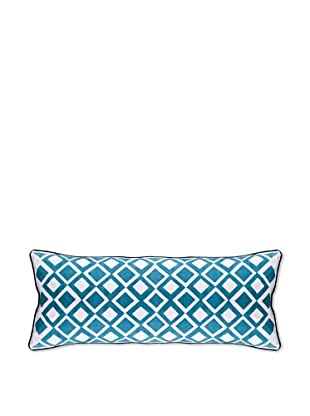 AphroChic The Beat Pillow (Cerulean/White)