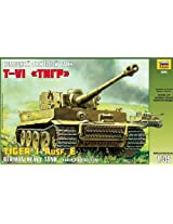 Zvezda Models Tiger I Ausf. E Early Production with Interior Details of Fighting Compartment Building Kit, Scale 1/35