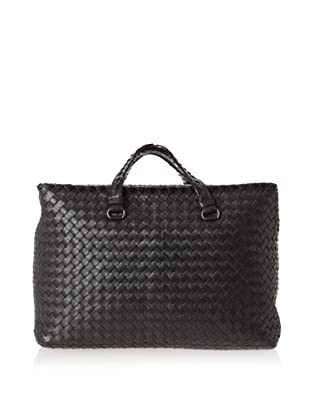 Bottega Veneta Women's Brick Bag, Black