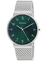 Skagen End of Season Ancher Analog Green Dial Men's Watch - SKW6184I