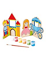 Hape - Paint it Yourself Fairy Tale Wooden Craft Kit
