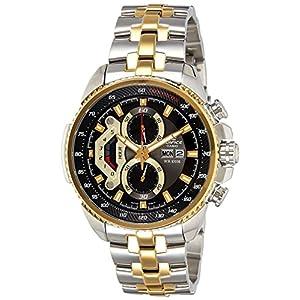 Casio Edifice Chronograph Black Dial Men's Watch - EF-558SG-1AVDF (ED439)