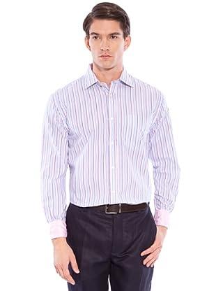Hackett Camisa Rayas (Azul / Rosa)