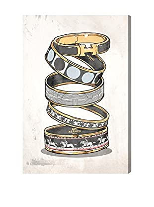 Oliver Gal Arm Candy Noir Canvas Art
