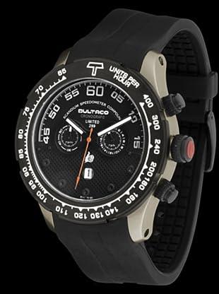 Bultaco H1ST48C-SB2 - Reloj Scandium Limited correa silicona negro